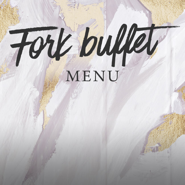 Fork buffet menu at The Plough & Harrow