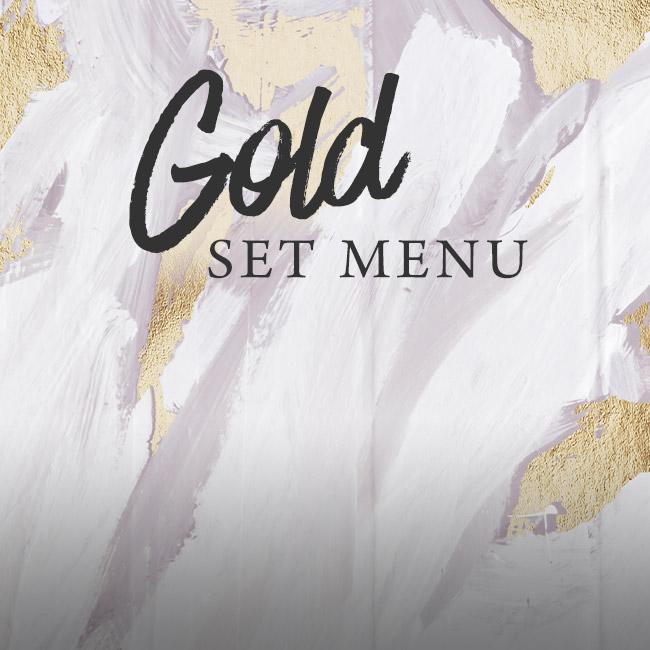 Gold set menu at The Plough & Harrow