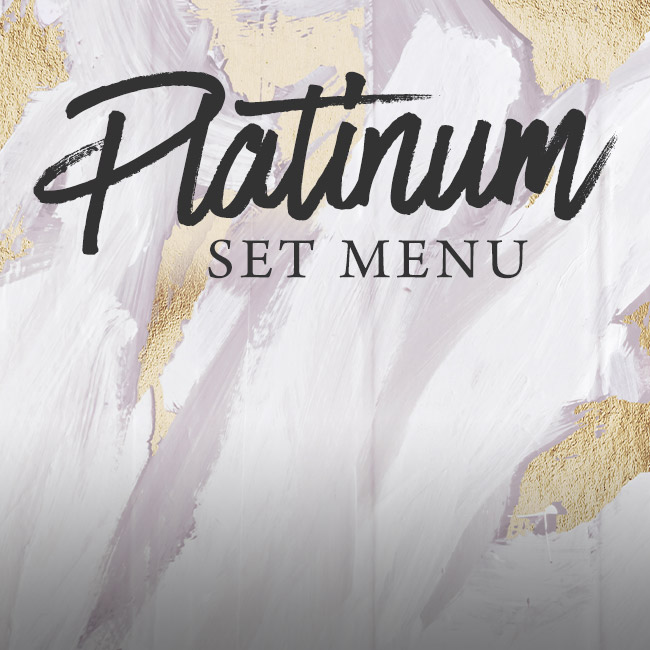 Platinum set menu at The Plough & Harrow