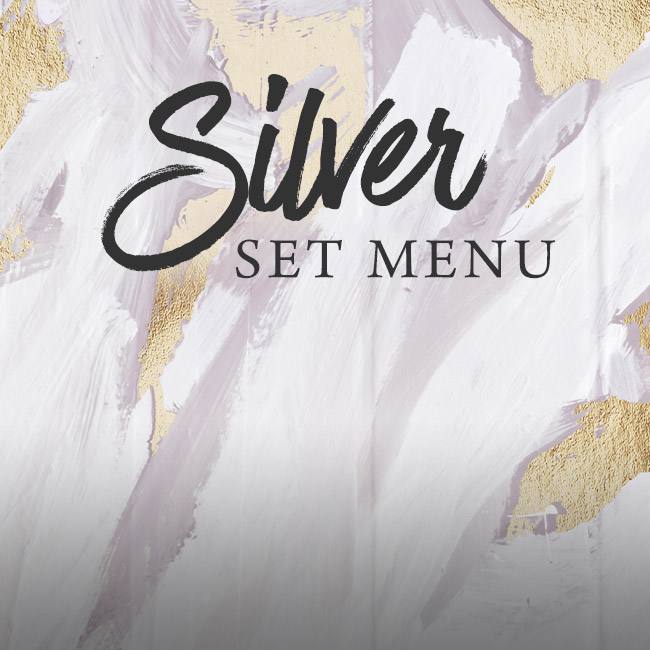 Silver set menu at The Plough & Harrow