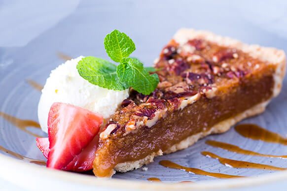 Desserts at The Plough & Harrow this Father's Day